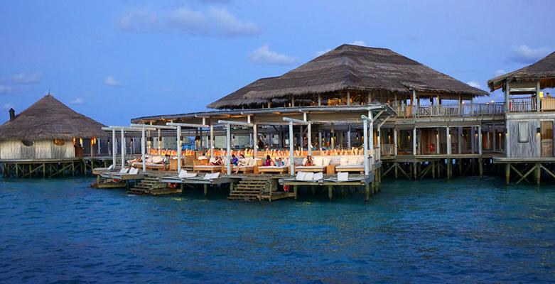 马尔代夫第六感拉姆岛餐厅