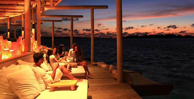 马尔代夫第六感拉姆岛(Chill Bar)餐厅